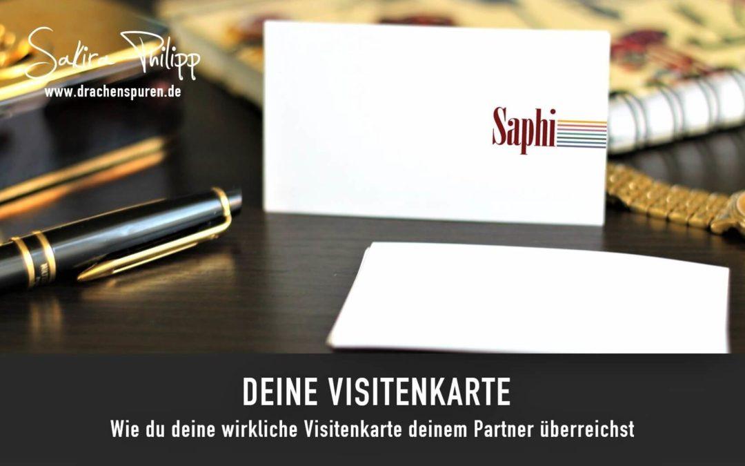 Visitenkarte // Drachenspuren - Sakira Philipp