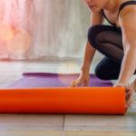 Yogamatte // Drachenspuren - Sakira Philipp