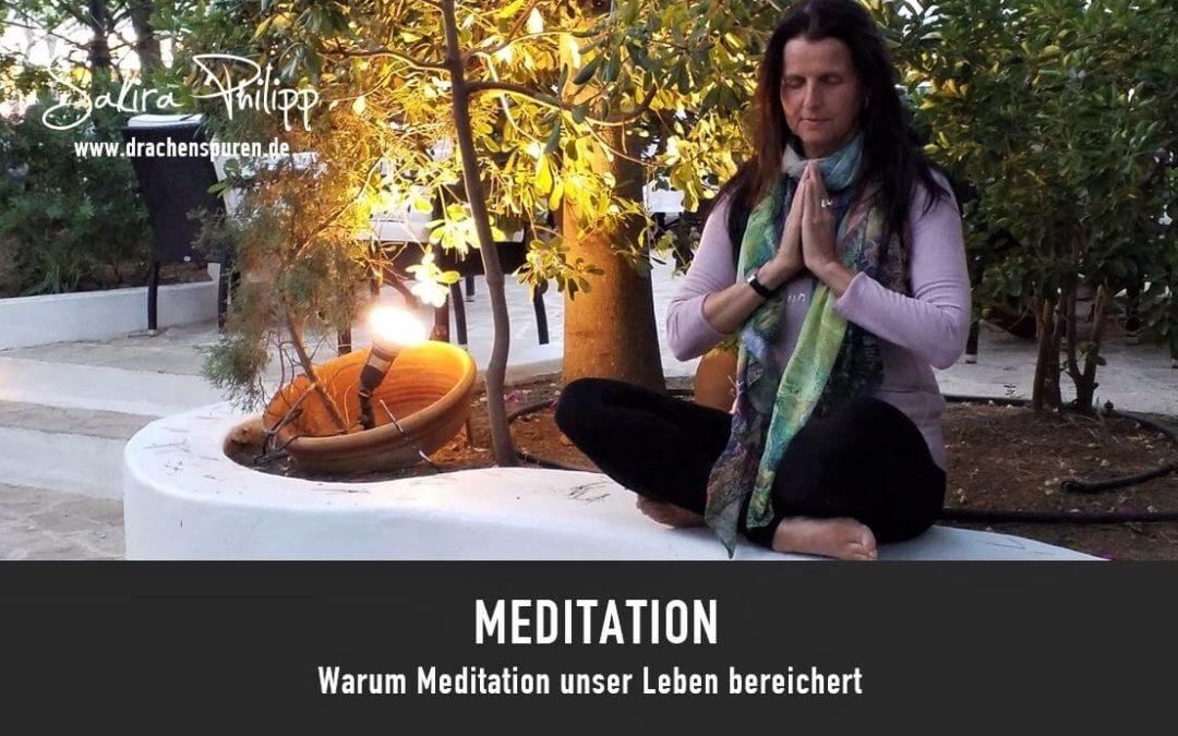 Meditation // Blog Drachenspuren - Sakira Philipp